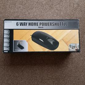 Brand new Philex 6-way Home Powershuttle Surge Protector