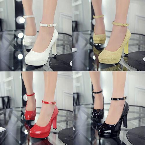 Ladies High Heels Platforms Wedges Pumps Wedding RAS