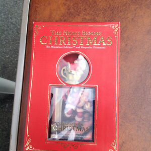 NIGHT BEFORE CHRISTMAS MINIATURE EDITION ** NEW **