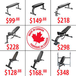 Decline Adjustable Commercial Folding Weight Bench Flat Incline
