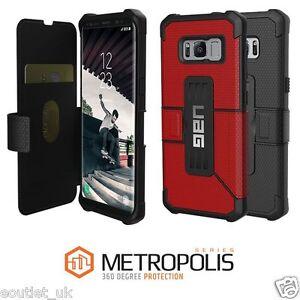 Urban-Armor-Gear-UAG-Samsung-Galaxy-S8-METROPOLIS-Militar-Funda-libro