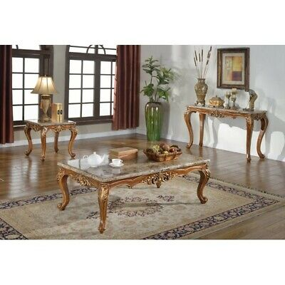 BestMasterFurniture Marble Console and End Table