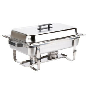CHAFING DISH 8 QUART STAINLESS STEEL, IGLOO SCARBOROUGH