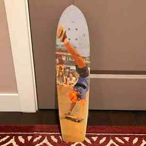 1977 Vintage Fiberglass Skateboard Collectors Item