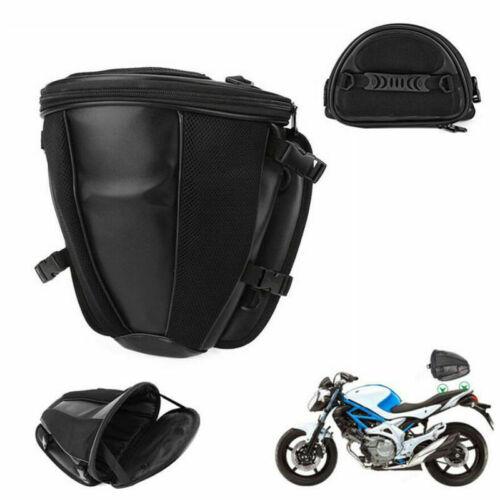 Motorrad Hecktasche Sozius Tasche Gepäcktasche Wasserdicht Gepäckrolle Schwarz N