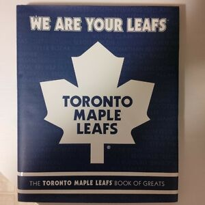 Toronto Maple Leafs book of greats