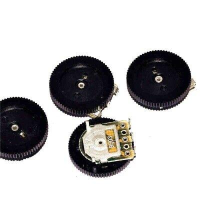 50k Ohm B503 Gear Pulley Wheel Audio Potentiometer 16x2mm New