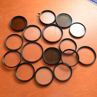 A lot of reputable branded lens filters, $5 per filter