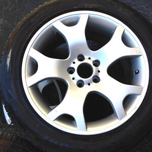 """BMW X5 19"""" Rims and Tires front: 255/50/R19; rear: 285/45/R19"""