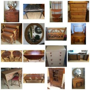 WANTED: Your vintage/antique home furnishings!