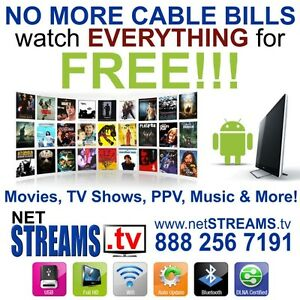 NO MORE CABLE BILLS EVER! Watch EVERYTHING for FREE!