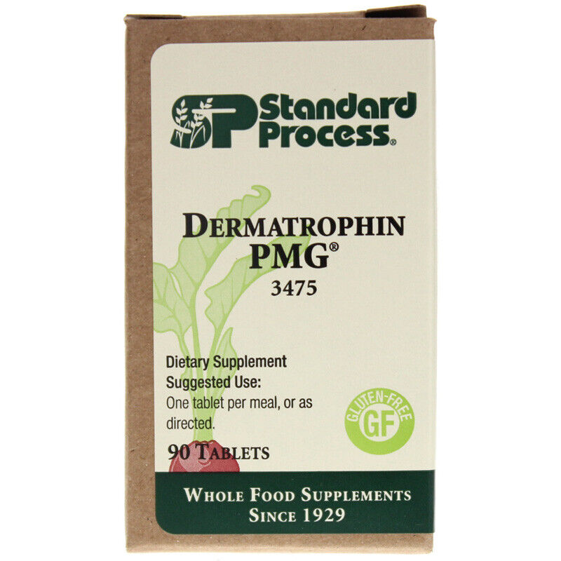 Standard Process DERMATROPHIN PMG 90T  * Exp 04/22 * SHIPS WITHIN 24 HOURS FREE!