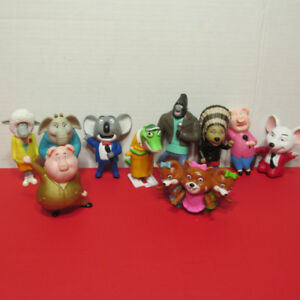 CHANTEZ ENSEMBLE DE 10 FIGURINES MCDONALDS SING FILM