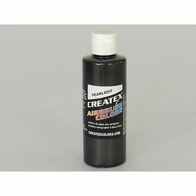 (8,62€/100ml) pearl Schwarz Createx Airbrush Colors Farbe 120ml 12 5315 Createx