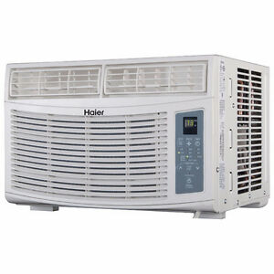 Haier Window Air Conditioner-8000 BTU-White-NEW in box