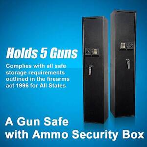 Brand New 5,10 or 14 Gun Safe Firearm storage with Ammo Box Eagle Farm Brisbane North East Preview