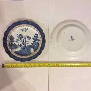 China, Real Old Willow, Booths, Plates London Ontario image 5
