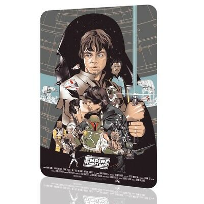 METAL SIGN STAR WARS The Empire Strikes Back Collectors 03 Exclusive Decor Wall
