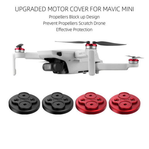 4PCS Aluminum Alloy Motor Protective Covers For DJI Mavic Mini Drone Accessories