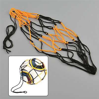 Nylon Net Bag Ball Carry Mesh Volleyball Basketball Football Soccer Useful E&F