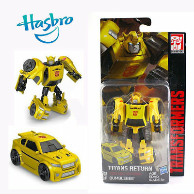 Transformers BUMBLEBEE wie G1 TITANS RETURN Neu wie Deluxe Optimus Prime Ratchet ()