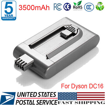 3500mAh 21.6V Battery Replacement For Dyson DC16 Root 6 Handheld Vacuum Cleaner