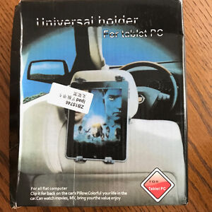 Universal Tablet Holder for Exercise Bikes Cars SUVs for iPad