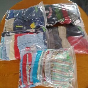 5 bags of boy clothes size 12 months
