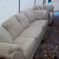 Couch and chair $150
