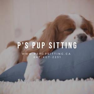 P'S PUP SITTING