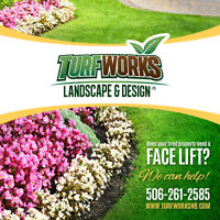 We offer all types of landscape installation and maintenance