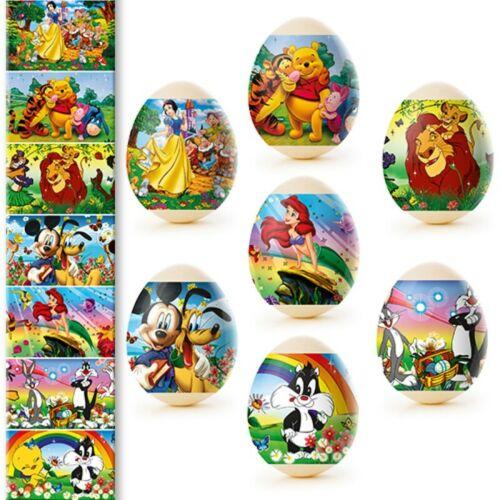 70 Easter Egg, Egg Stickers Decoration Sticker Heat Shrink Sleeve Wraps Pysanka