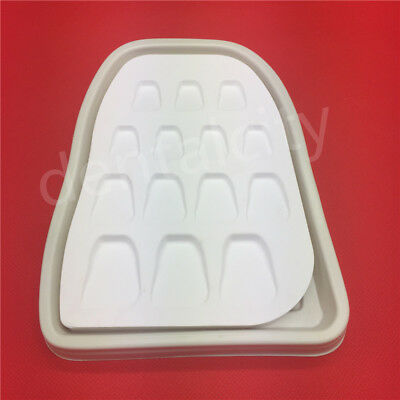 New Dental Lab Microporous Porcelain Ceramic Mixing Watering Plate Wet Tray