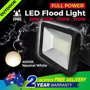 30W LED Outdoor Flood Light Neutral White Security Landscape Lamp North Melbourne Melbourne City Preview