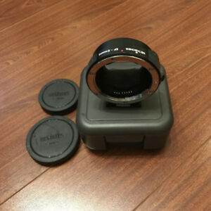 Metabones IV EF - E Mount Adapter
