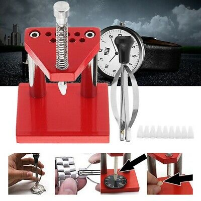 Watch Repair Tools Puller Plunger Remover Hand Presser Press Fitting Kit NEW