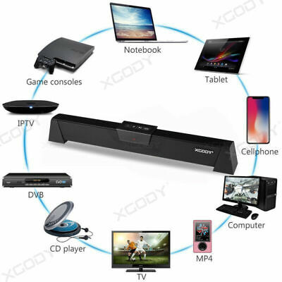 20W 52CM TV Speaker Soundbar Bluetooth Wireless Home Theater Sound Bar (20 Speakers)