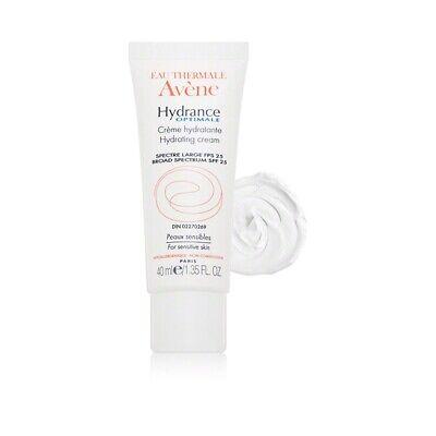 Avene Hydrance Optimale SPF 25 Hydrating Cream (1.35 oz/ 40 ml)