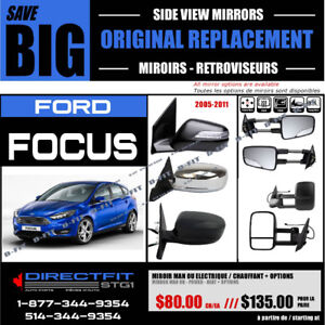 FORD FOCUS [2005-2011] ► MIROIR – RETROVIEUR NEUF ‖ NEW MIRROR