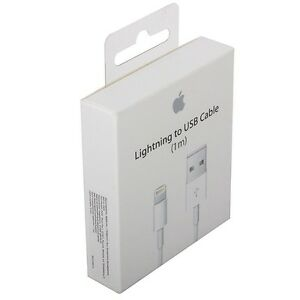 B/N Apple 8 Pin Lightning Cable for iPhones, iPads and iPods.