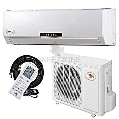 36000 BTU 3 Ton 16 SEER Inverter Ductless Mini Split A/C Heat Pump 36,000 25'Kit