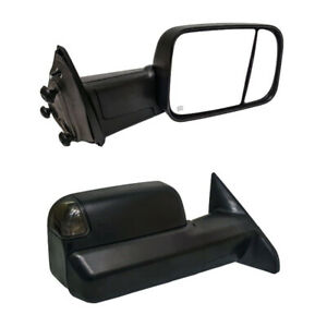 Brand New Drivers side Paragon Towing Mirror For 2009-2018 Dodge