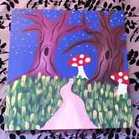 Large Box Canvas Paintings