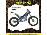 Sherco TY125 4t Trails Bike 2022 Model - Nil Deposit Finance Available