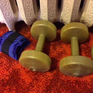 Weights for light Exercise.
