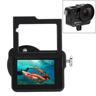 Protective Cage (PULUZ protective Cage Insurance Frame 52mm UV Lens Aluminum for GoPro HERO(2018) )