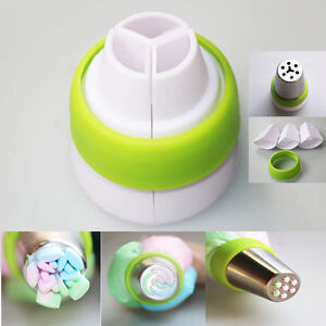 Icing Piping Decorating Nozzle Converter Adapter Fondant Cake Baking Tool