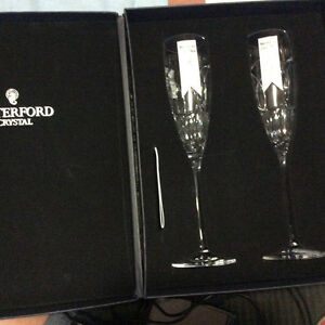 Waterford Chrystal Love Chrstal Flutes