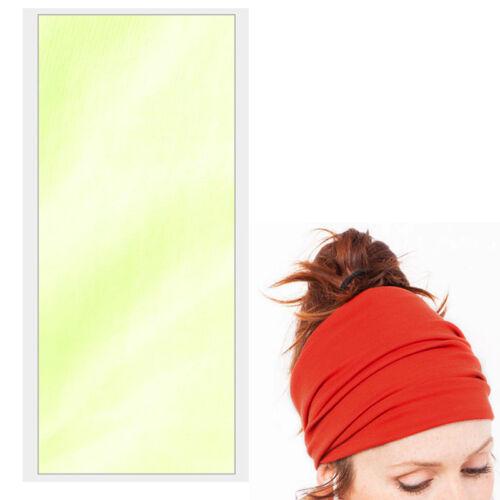 Women Soft Elastic Stretch Wide Hairband Yoga Headband Turban Running Head Wrap
