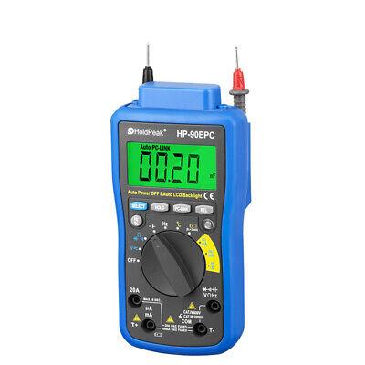 Holdpeak Hp-90epc Digital Multimeter Usb Multimeter Digital Temperature Inst 1g8